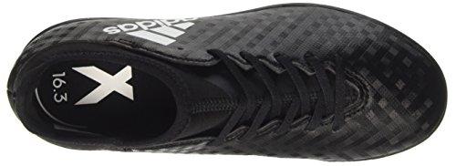 adidas Unisex-Kinder X 16.3 in Fußballschuhe Schwarz (Core Black/ftwr White/core Black)
