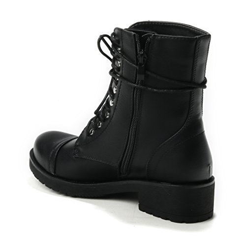 HERIXO Women's Boots Black koz43T