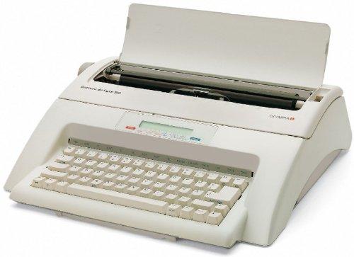 Olympia 252661001 Schreibmaschine, Carrera de luxe MD, Schreibleistung 11 Zeichen / Sekunde