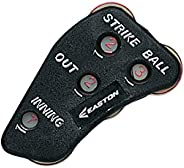 Easton Ultimate Umpire Indicator 2020 Hand Design for Comfort Into Extra Innings Tracks Strikes/Balls/Outs/Inn