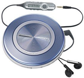 Panasonic SL-CT520 Portable CD / MP3 Player with D.Sound Technology