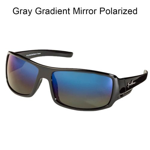 SolarBat Jimmy Houston 1 G15 Gradient Mirror - Bat Solar Sunglasses