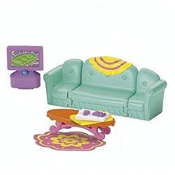 Fisher-Price Dora the Explorer-Dora Magical Welcome House-Living Room
