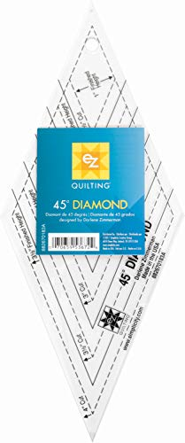 45 Degree Rule - EZ Quilting 45 degree Diamond Template Tool