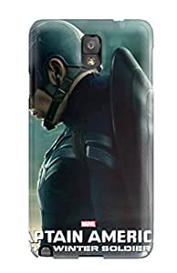Yasmeen Afnan Shalhoub's Shop 6051514K65811879 Fashion Case Cover For Galaxy Note 3(captain America 2014 Poster Pictures)