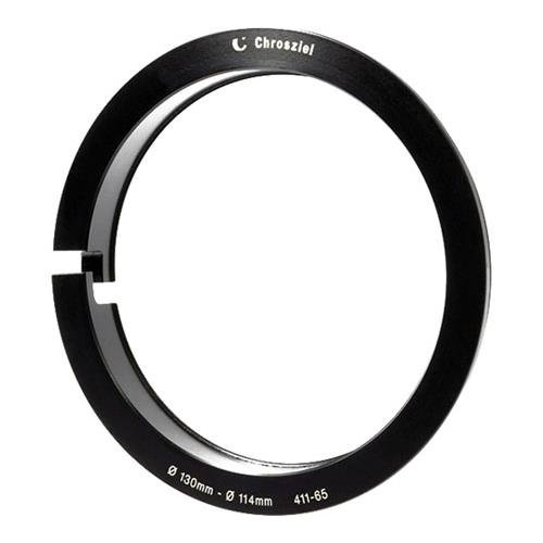 CHROSZIEL C-411-65 Step Down Ring 130mm to 114mm use with Clamp-On Sunshades - Chrosziel Step Down Ring