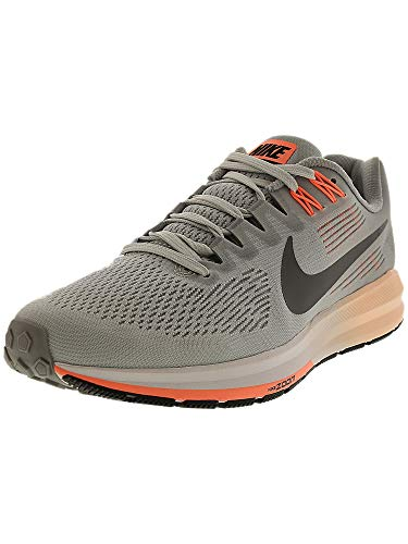 best loved bc97a 3ffb2 Nike Women s Air Zoom Structure 21 Running Shoe Wolf Grey Dark Grey-Pure  Platinum
