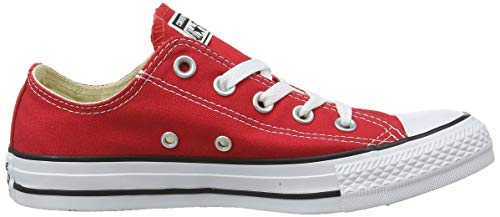 Red Rouge Mixte Adulte Basses Taylor All Baskets Ox Converse Chuck Star nOISSq