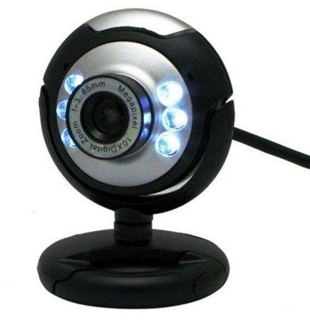 Axiom USB 12 Megapixel AXIOM Camera Web Cam w/ Mic Night Vision for Desktop PC Laptop