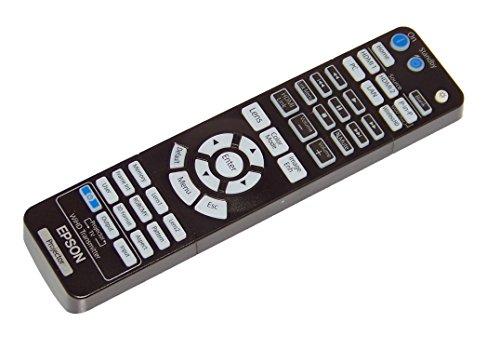 OEM Epson Projector Remote Control For Epson PowerLite Home Cinema 5040UB, 5040UBe, PowerLite Pro Cinema 4040, 6040UB by Epson