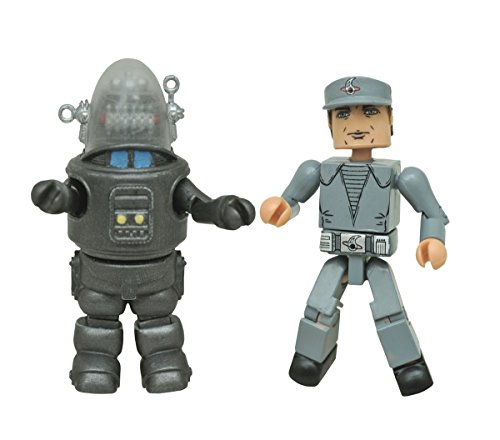 Diamond Select Toys Forbidden Planet Robby the Robot & Crewman Minimates Two Pack Action Figure Action Planet Robot