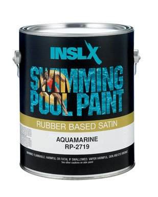 Amazon.com: Insl-X Swimming Pool Paint Rubber Based Indoor ...