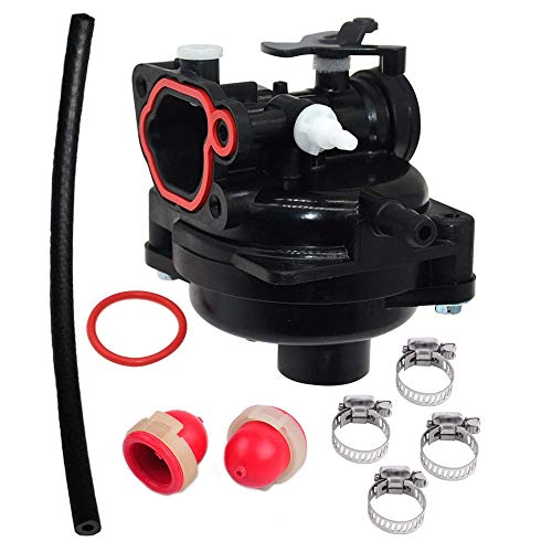 Fuerdi 593261 Carburetor for Briggs & Stratton 08P502 8P502 300E 450E 500E Vertical Engine Carb with Primer Bulb Kit