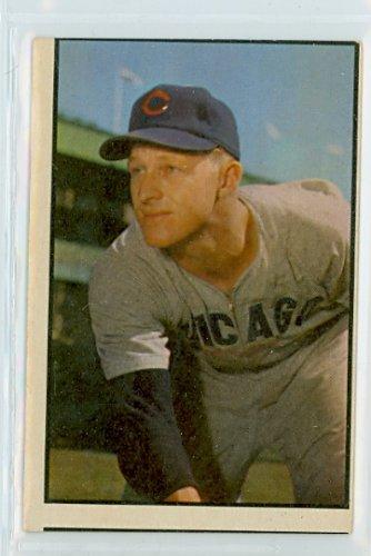 1953 Bowman Color Baseball 144 Warren Hacker Good (2 out of 10) by Mickeys Cards (1953 Bowman Color Baseball)