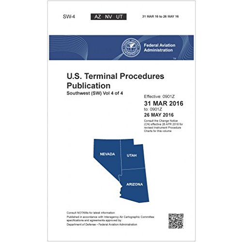 FAA IFR Terminal Procedures Bound Southwest (SW-4) Vol 4 of 4 (Always Current Edition)