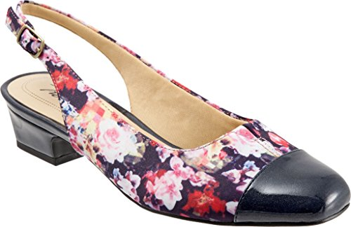 Pump Women's Wash TROTTERS Leather Dea Slingback Flora CBpdqa