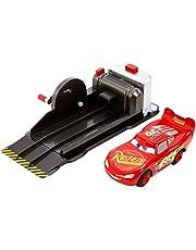 Cars 3 - Rayo Mcqueen Superpiruetas, Lanzador y Coche de Juguete, Norme Mattel FRV84