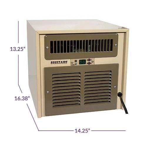 Breezaire WKL-2200 Wine Cellar Cooling Unit (Max Room Size = 265 cu ft by Breezaire (Image #2)