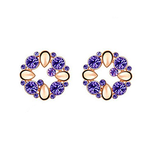 MosierBizne Yingli Flowers Earrings(4) (Quoizel Ring)