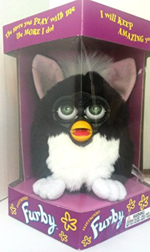 Furby Skunk Generation 1 - Black Body with White Belly