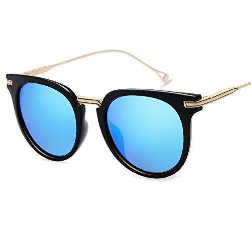libre A con para sol sol C marco de protección Gafas solar de redondas moda polarizadas ZHIRONG Gafas al alta con luz aire definición de Color redondo de 4wqWgY