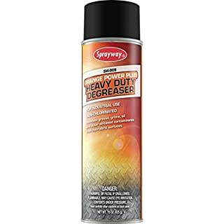 Sprayway SW909 Industrial Heavy Duty Orange Power Plus Degreaser, 15 oz