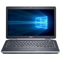 2017 Dell Latitude E6430 Premium 14.1 Inch Business Laptop computer, Intel Dual Core i7-3520M 2.9Ghz Processor, 16GB RAM, 256GB SSD, DVD, Rj-45, HDMI, Windows 10 Professional (Certified Refurbished)