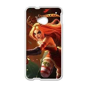 HTC One M7 Phone Case White League of legends-Katarina UYUI6771674