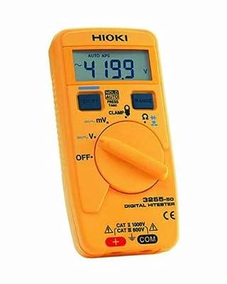 Hioki 3255-50 HiTester Auto-Ranging, Average-Sensing Digital Multimeter, 1000V, 42 Megaohms, 1000 Amp