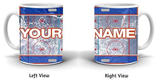 (BRGiftShop Customize Your Own Hockey Team Edmonton 11oz Coffee Mug)