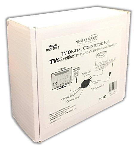 Serene Innovations DAC-202B TV Digital Audio Connector