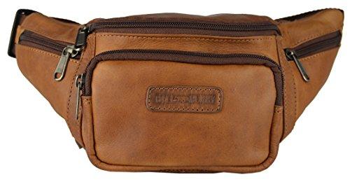 Bags4Less  3044_2, Marsupio  Donna Uomo Unisex adulto Marrone marrone Taglia unica