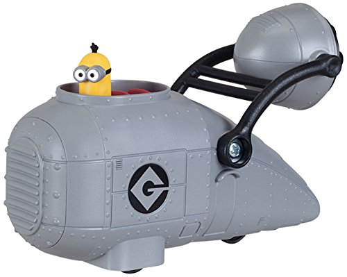 Despicable Me Gru's Vehicle with Minion Toy Figure