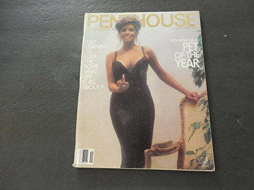 Penthouse Nov 1982 Learning To Love The Bomb; Pet Of The Year