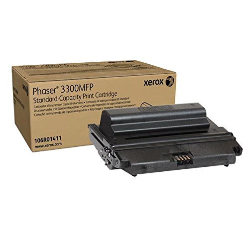 XEROX black high capacity toner cartridge for phaser 3300mfp [Office Product] XEROX CORP. 106R01412 518439-DBA