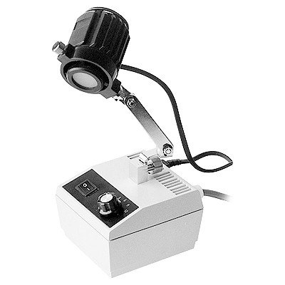 "HHIP 8902-6007 Microscope Halogen Light, 15W, 115V/60 Hz, 10-1/2"" Maximum Height"