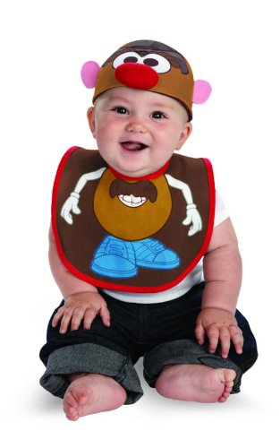 Mr Potato Head Infant Bib and Hat