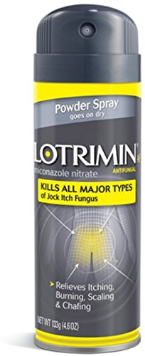 Lotrimin AF Jock Itch Powder Spray 4.60 oz (Pack of 6)