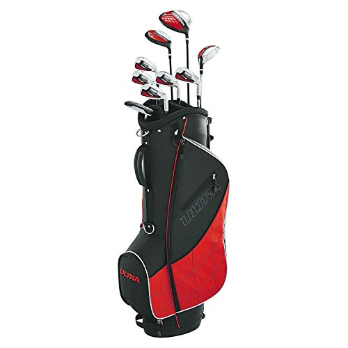 Wilson Golf Men's 2017 Ultra Package Set, Right Hand, Red -