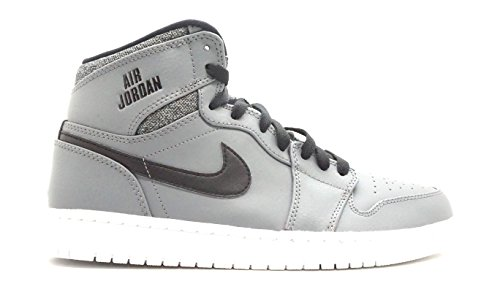 Nike Jordan Mens Air Jordan 1 Retro High Cool Grey/White/Black/White Basketball Shoe 11 Men US