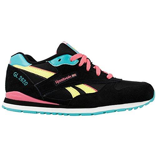 Reebok - GL 2620 - Color: Black-Pink-Turquoise - Size: 5.5