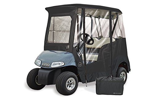 GreenLine GLEEZB02 2 Passenger EZ-Go Custom Golf Cart Enclosure, 68