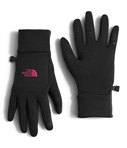 The North Face Women's Etip Gloves TNF Black/Cerise Pink LG