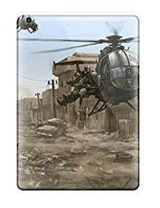 Premium Protection Helicopter Military Man Made Military Case Cover For Ipad Air- Retail Packaging