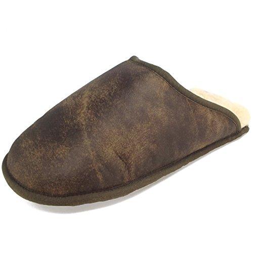 unisexe Fellhof antik Pantoufles Trendy brun EgcwgqAR