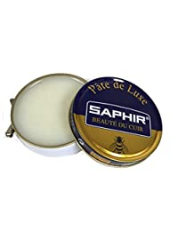 Saphir Beaute Du Cuir Pate De Luxe High Gloss Neutral Shoe Polish 50ml