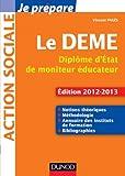 img - for je p pare le DEME ; dipl me d'Etat de moniteur  ducateur ( dition 2012/2013) book / textbook / text book