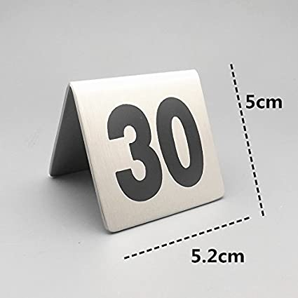 amazon com bent style double side table number table tent card