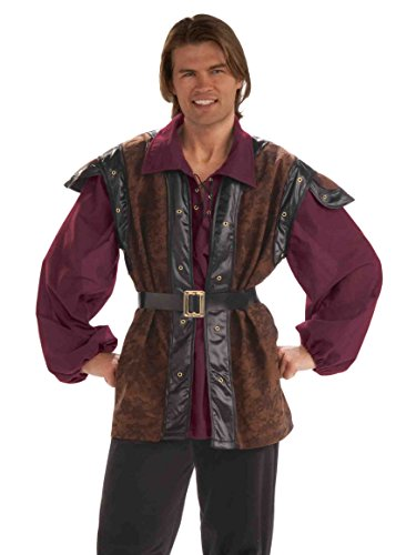 Forum Medieval Mercenary Deluxe Costume, Multi Color, Standard
