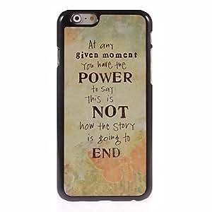 LIMME Power Not End Design Aluminum Hard Case for iPhone 6 Plus
